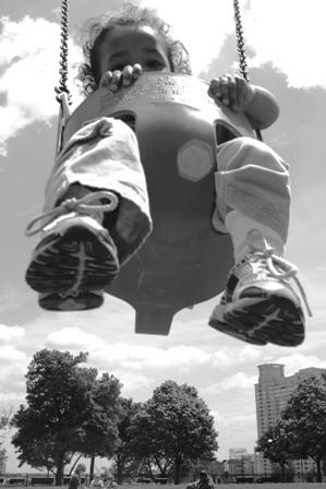 swinging T
